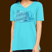 Dam Bash Party at the Lake 2019 ladies V neck tee
