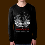 OBT Nutcracker Snowglobe 2018 mens Long Sleeve Tee - Men's Cotton Long-Sleeve Crew