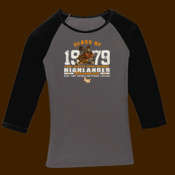 1979 reunion Lake Wales HSBlack heather ladies jersey