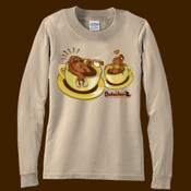 Outsider Brand Coffee Lovers unisex long sleeve tee