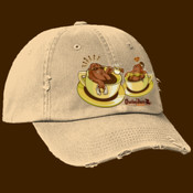 Outsider Brand Coffee Lovers Baseball cap distressed