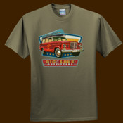Outsider brBnd Vintage camping unisex tee