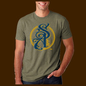 Sentinal Arms Circle 2color logo unisex tee
