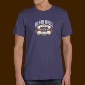 Atwill's Wagon Wheel festival tee left chest and full back navy 2